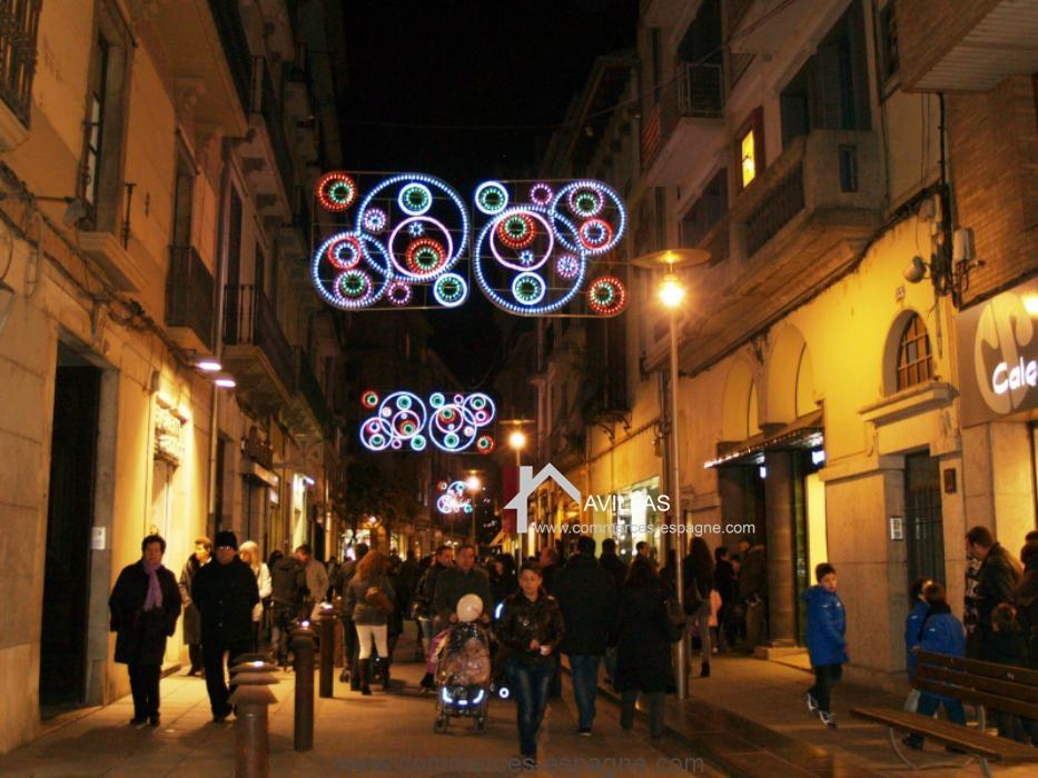 Rosas, local commercial rue piétonne