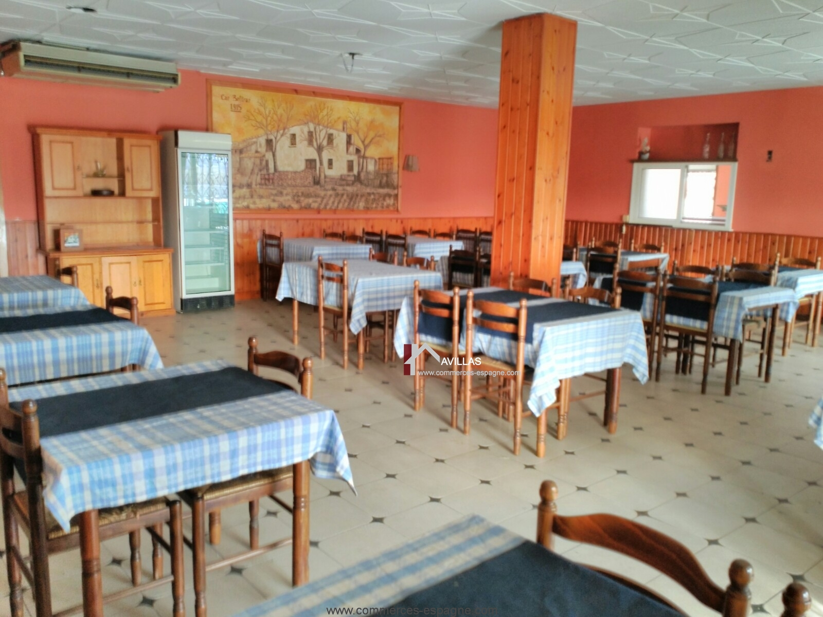 Tordera, Bar Restaurant avec appartement 5 chambres
