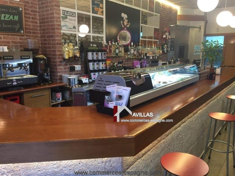 Alicante bar tapas restaurant avec terrasse fonds de for Achat equipement restaurant