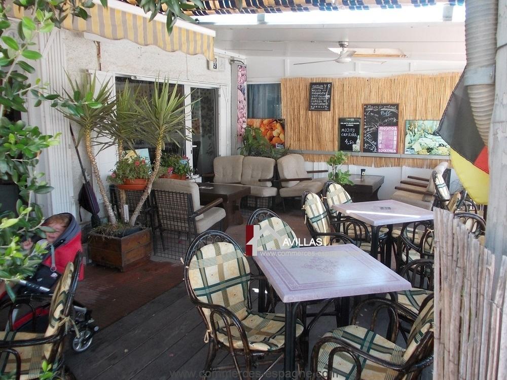 Torrevieja, Bar Restaurant avec 3 terrasses