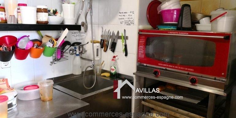 commerces-espagne-el-campello-com35034-cafétéria-cuisine
