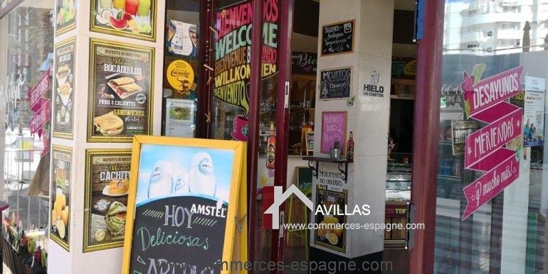 commerces-espagne-el-campello-com35034-cafétéria-entrée