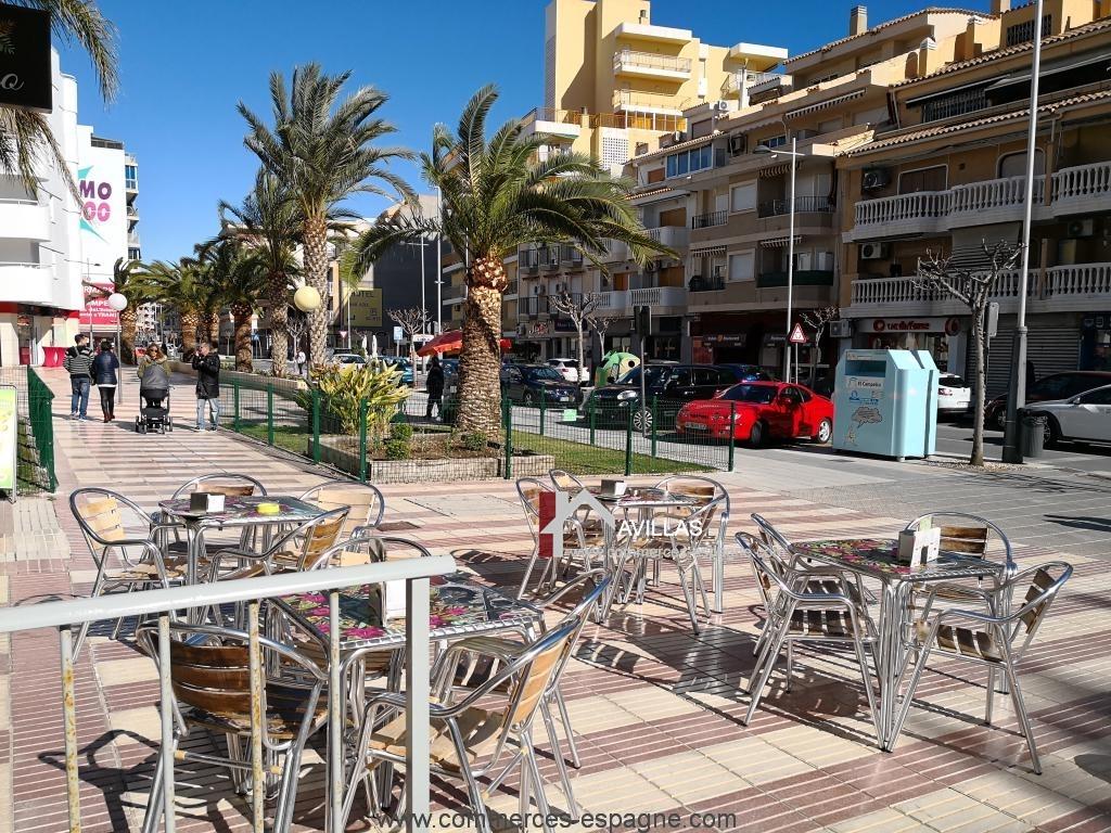 Alicante, Pizzeria, proche mer