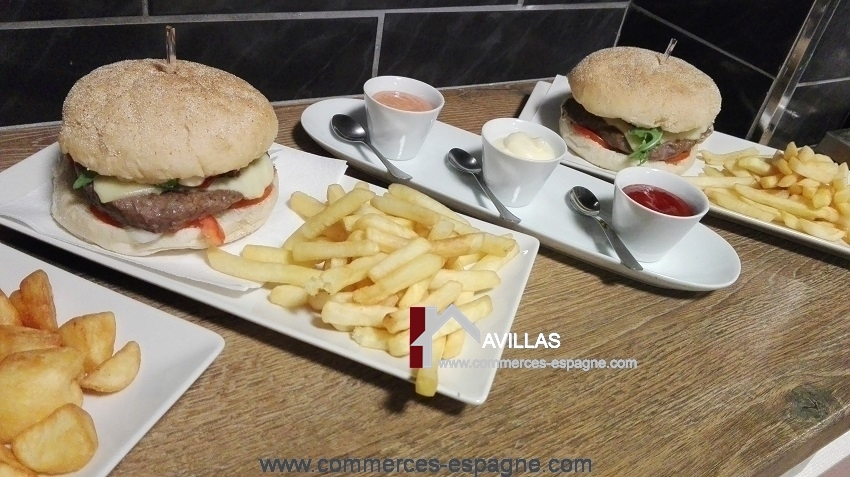 Benidorm, Bar Cafeteria, terrasse, Costa Blanca