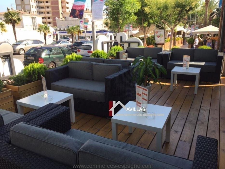 Platja de Aro, bar restaurant, Costa Brava