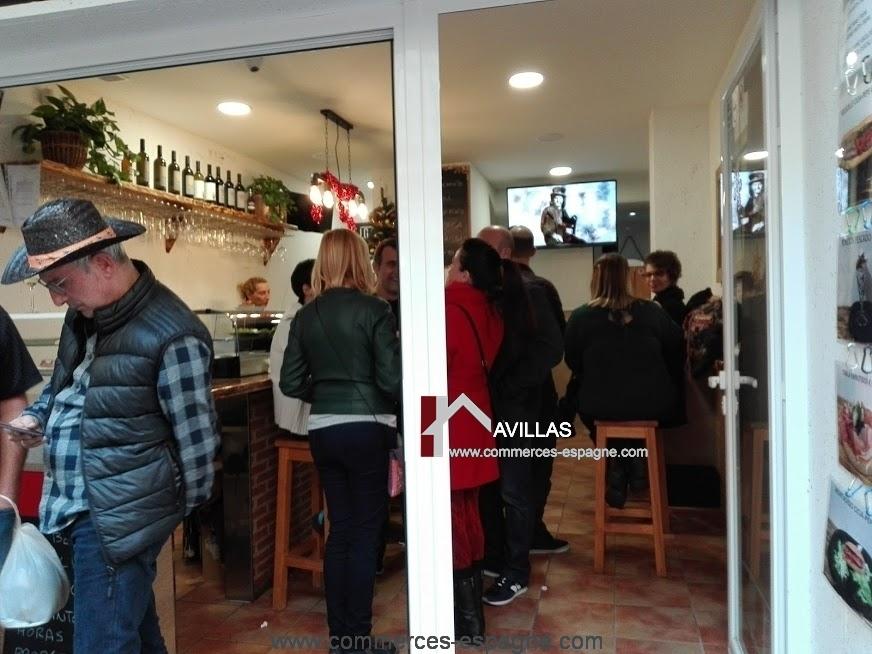 Benidorm bar tapas cafeteria rue pi tonne fonds de for Achat maison costa brava