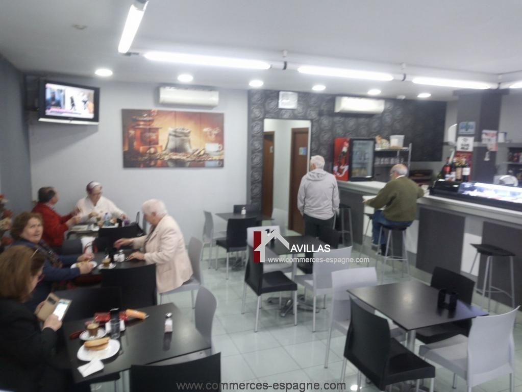 El Campello, bar cafeteria, Costa blanca
