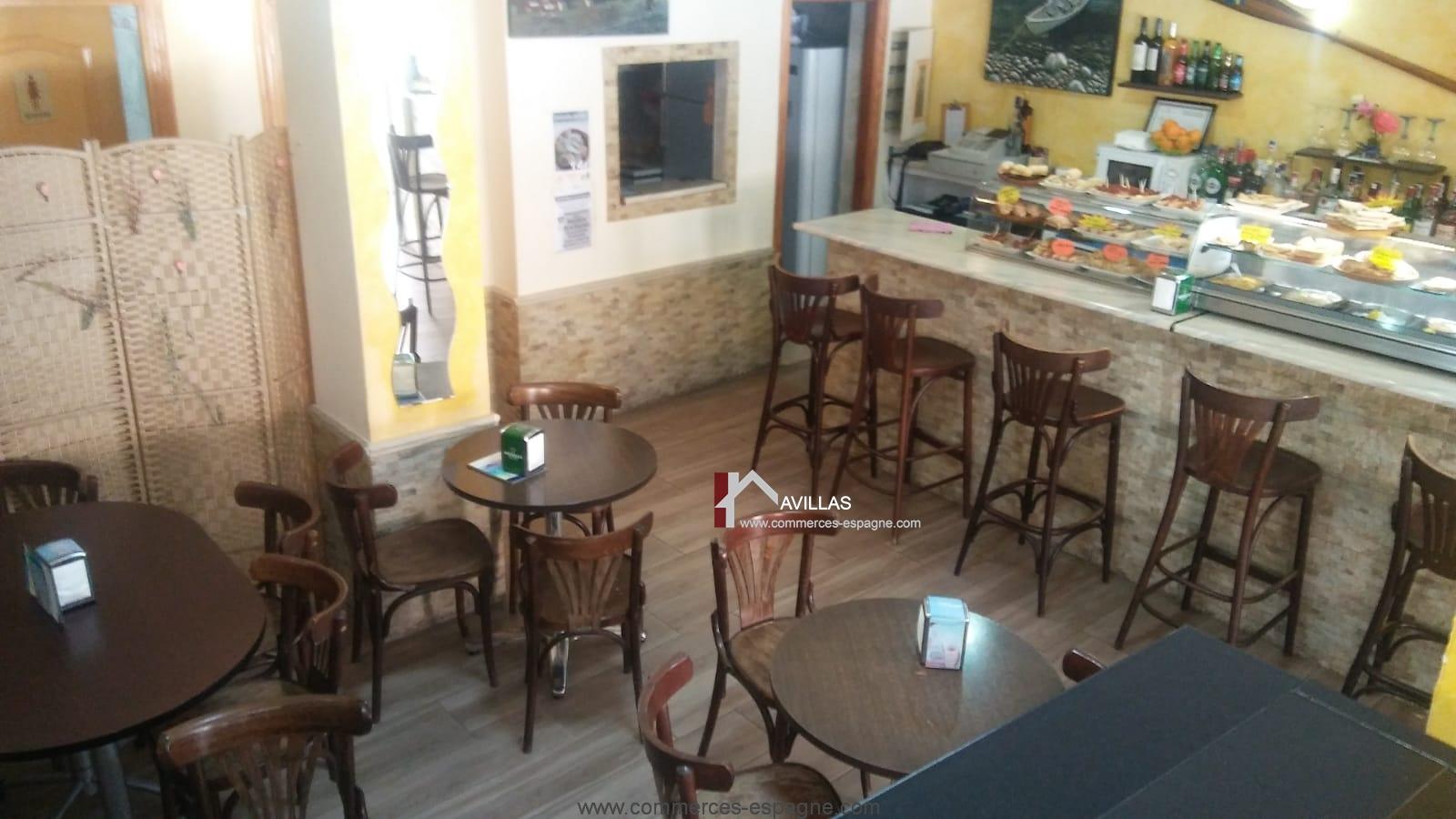Torrevieja, Bar Tapas, avec appartement, Costa Blanca