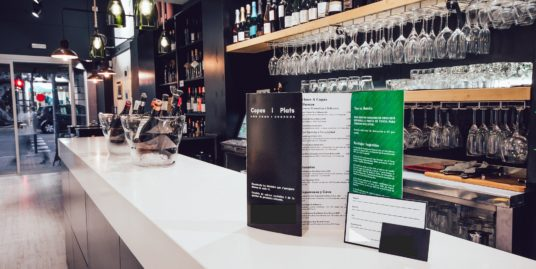 Barcelone, ​​Bar Cafeteria