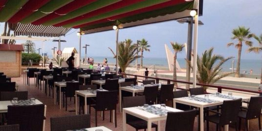 Castellon, Bar Restaurant, face mer