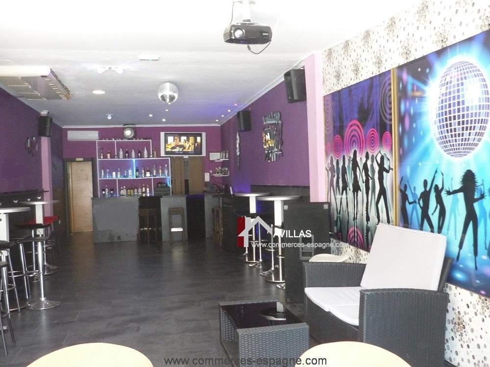 Benidorm, Bar de nuit, Costa Blanca