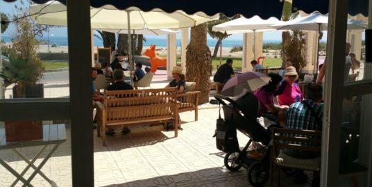 El Campello, Bar cafeteria, face mer, Costa Blanca