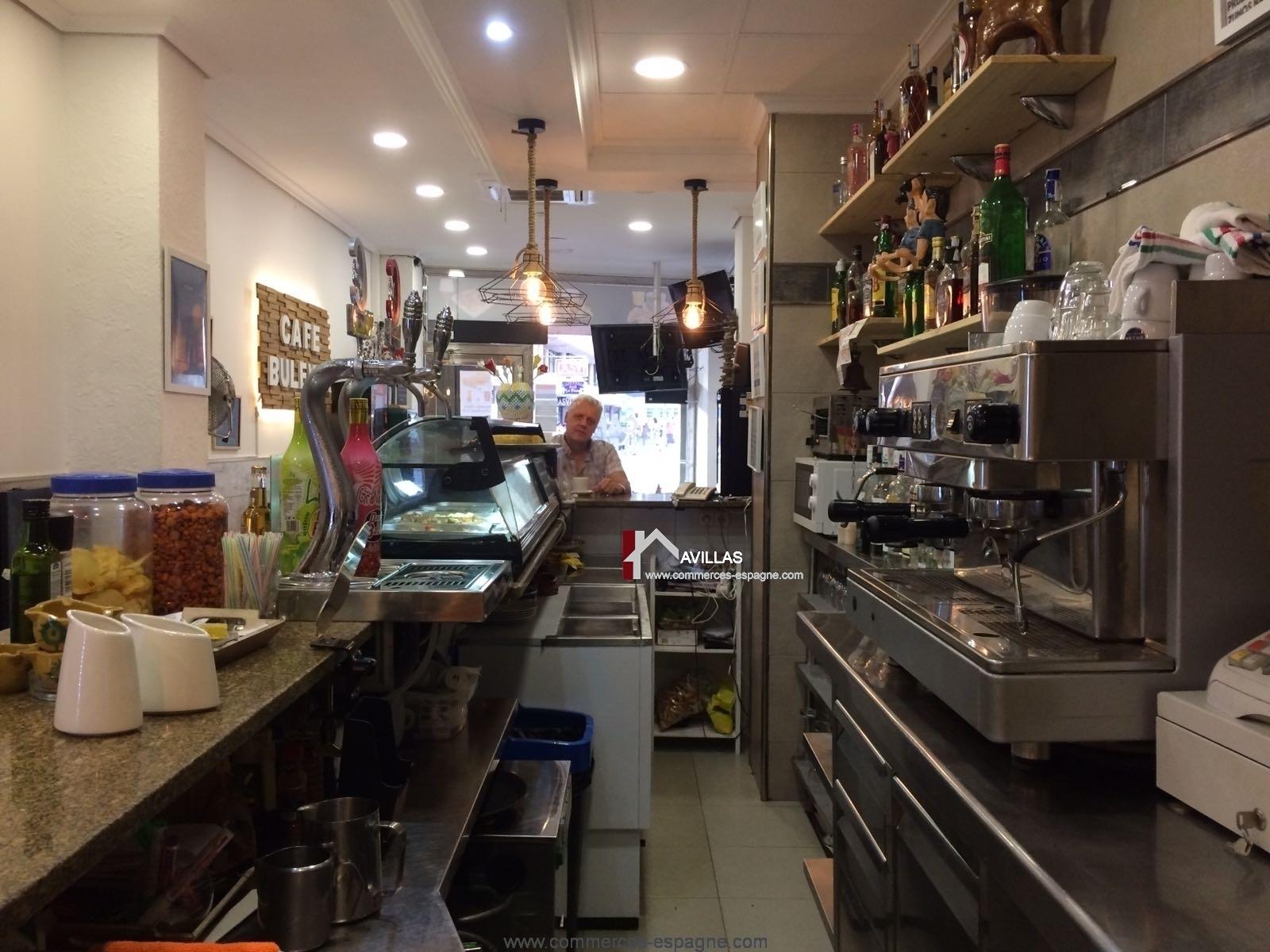Benidorm Bar Cafetería, Costa Blanca.