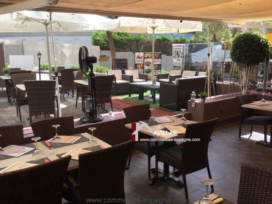 Lloret del mar, Bar restaurant, Costa Brava