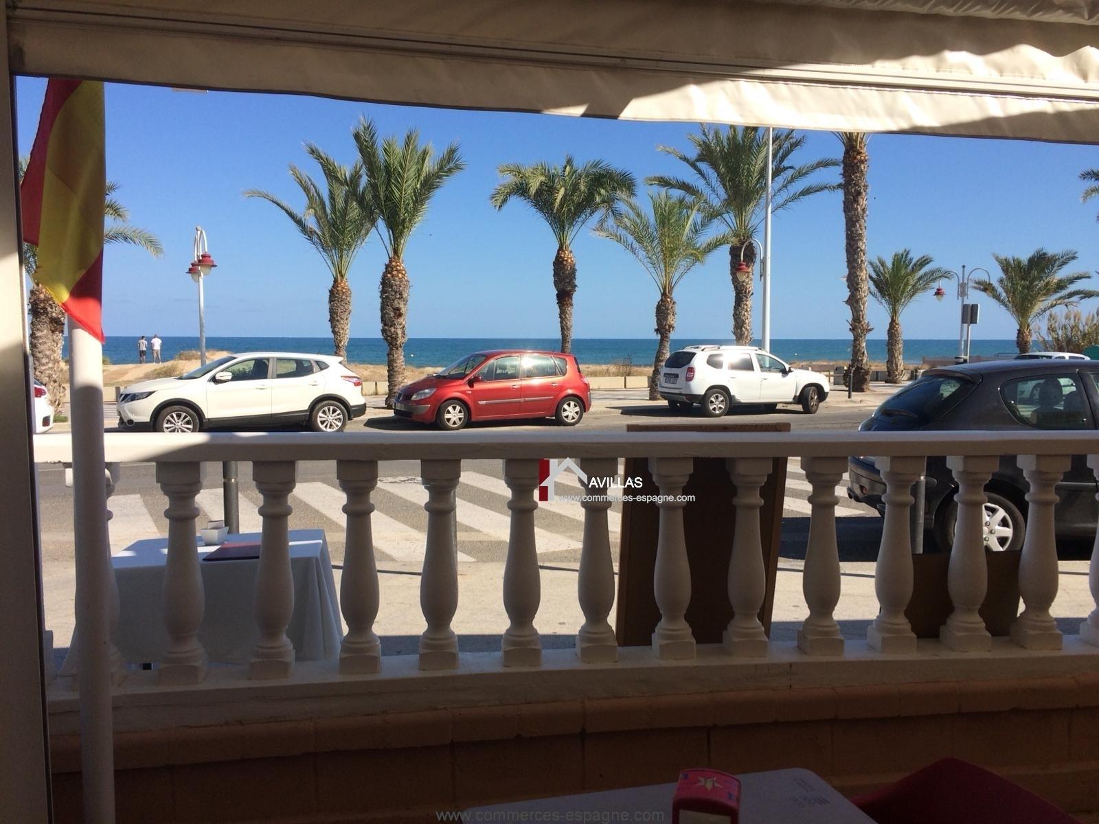 Alicante, bar Restaurant, face mer, Costa Blanca