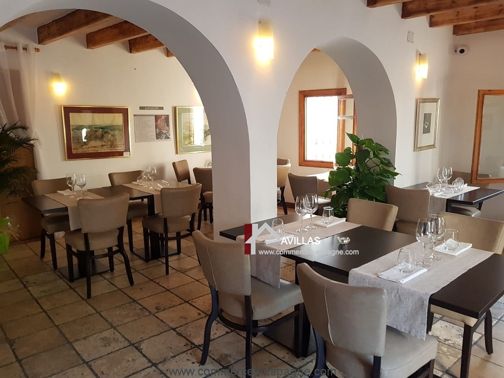 Altea Restaurant, avec appartement, Costa blanca