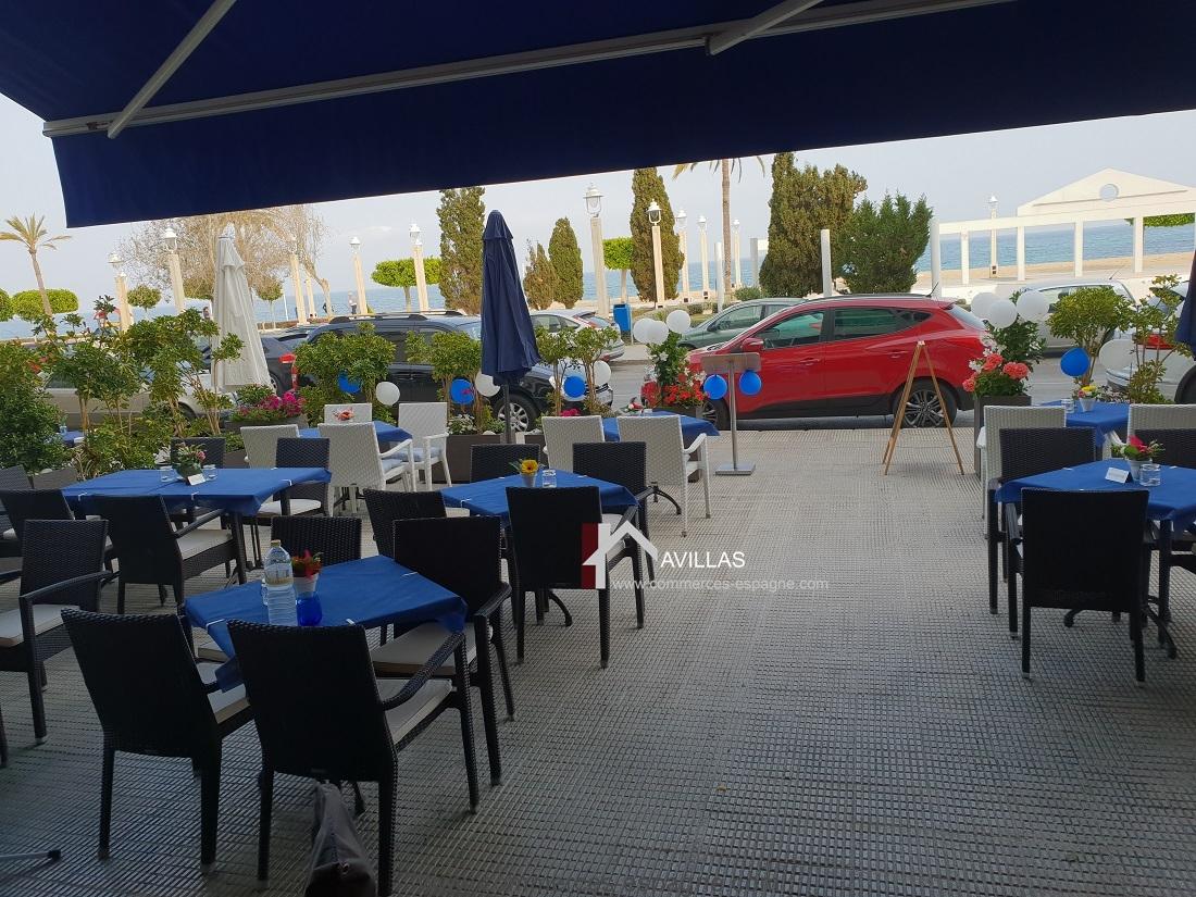 Altea, Bar, Restaurant face mer, costa blanca