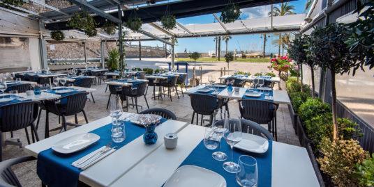 Sitges, Restaurant, Bar à vins, première ligne