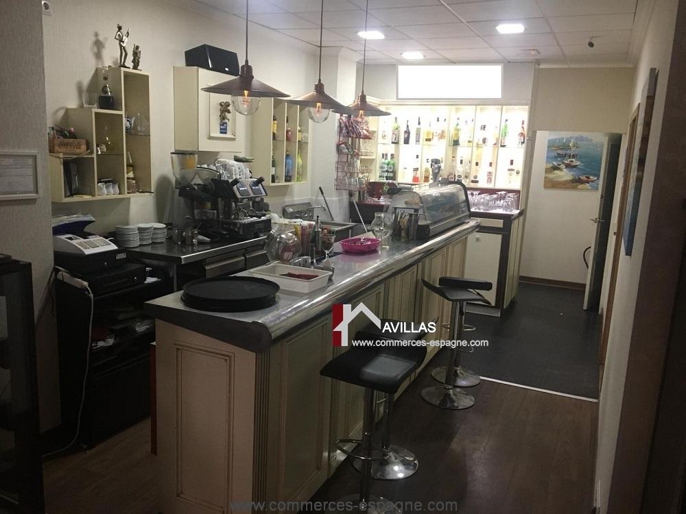Torrevieja, Bar Tapas, petite Restauration