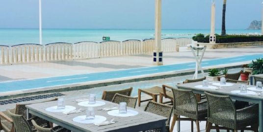 Altea, Restaurant, face mer