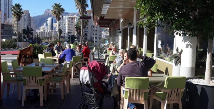 Calpe, Bar Restaurant, Costa Blanca