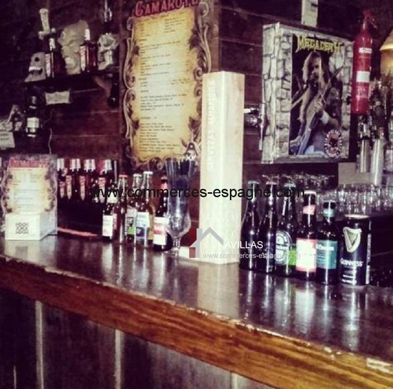 Alicante, bar de nuit, Costa Blanca