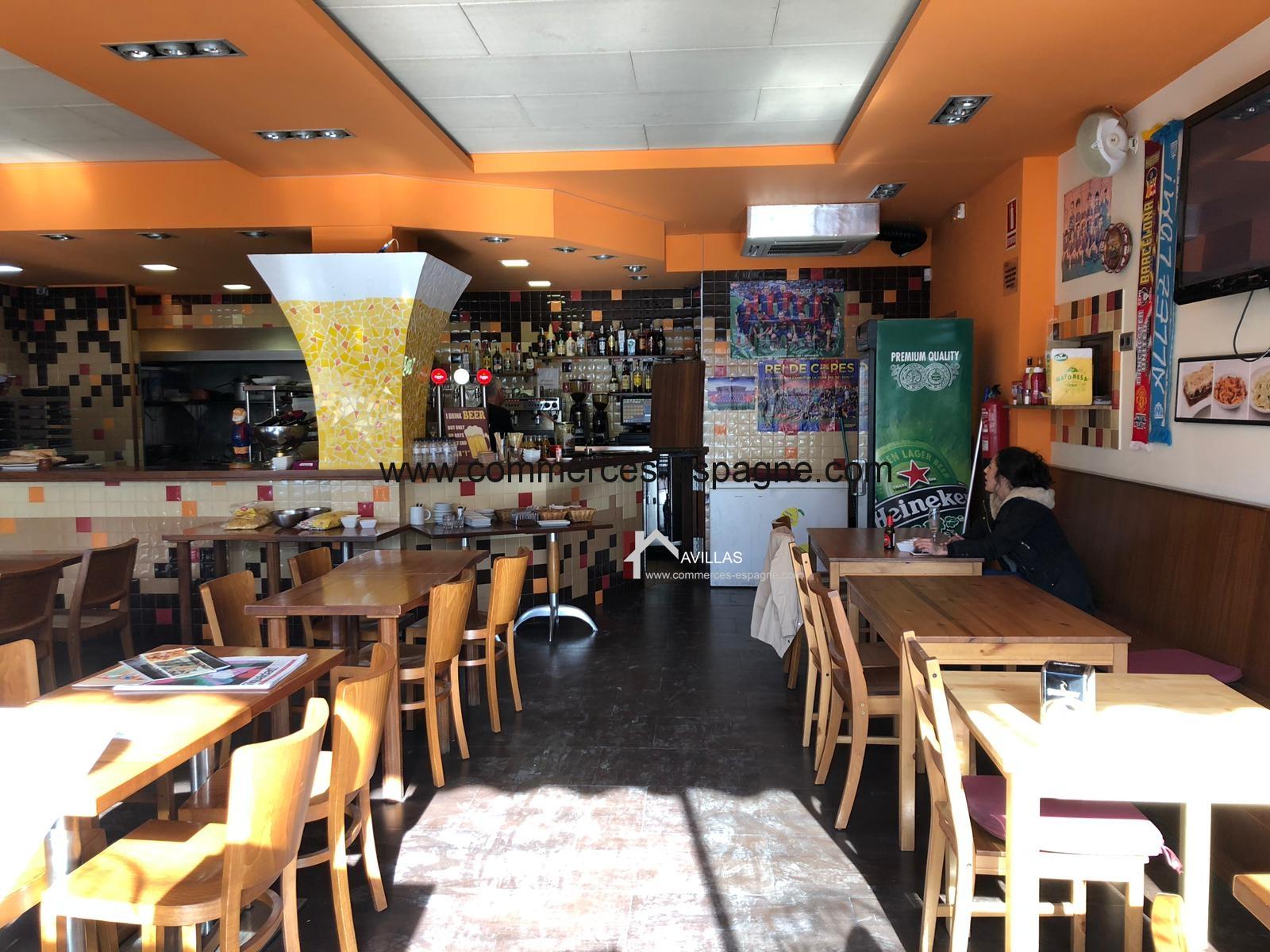 Lloret del Mar, Bar Restaurant.