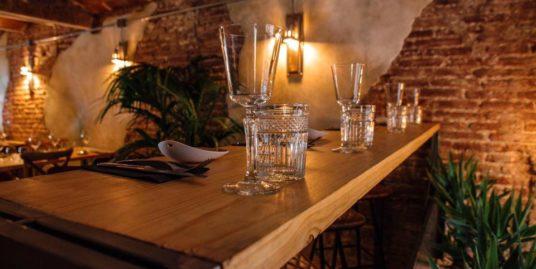Barcelone, bar restaurant, emplacement numero 1