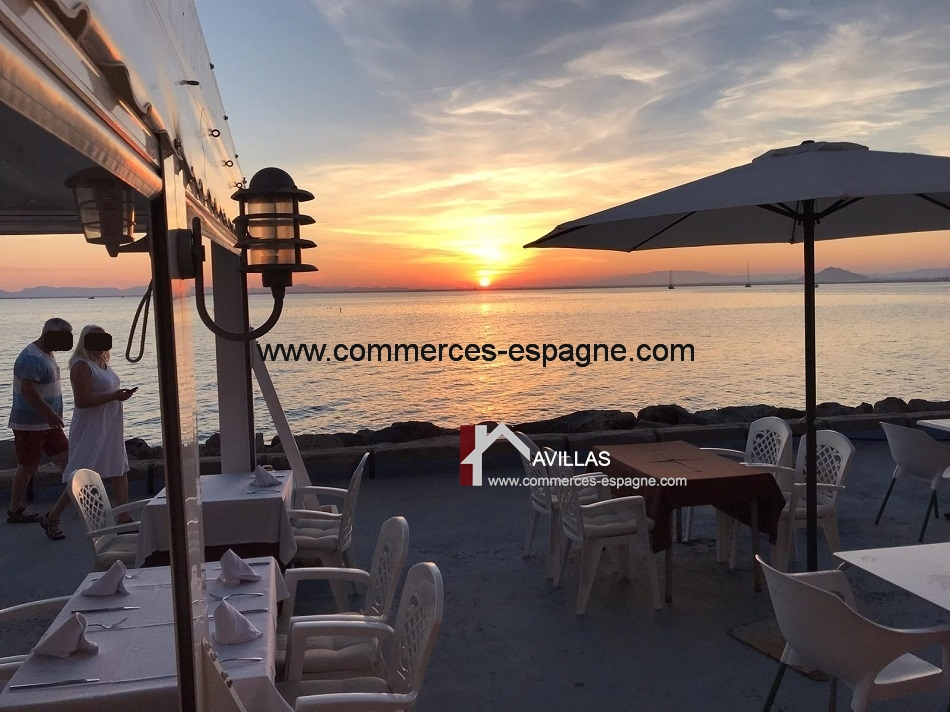 Murcia, Bar Restaurant, face mer, Costa Calida
