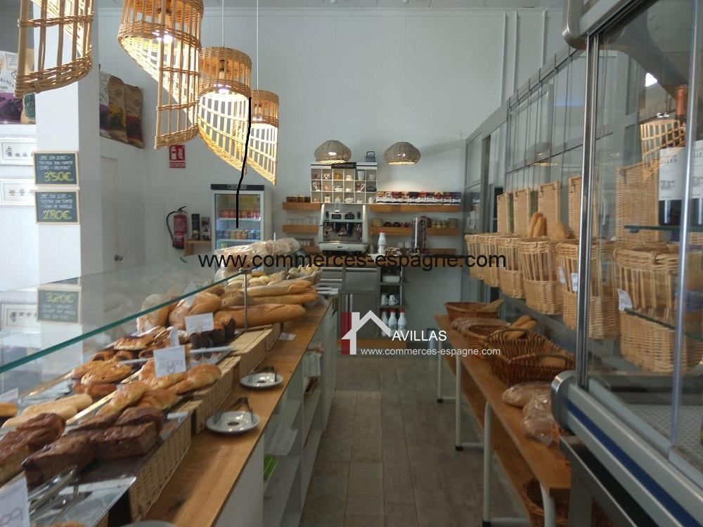 Boulangerie Cafeteria à Albir, Costa Blanca