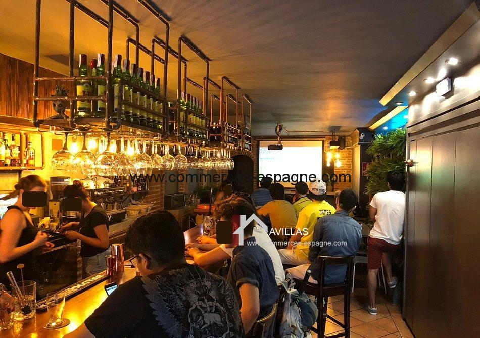 Barcelone, Cafeteria Bar Pub.