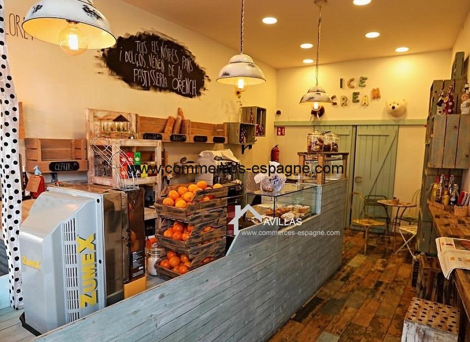 boulangerie à Lloret del Mar, Costa Brava