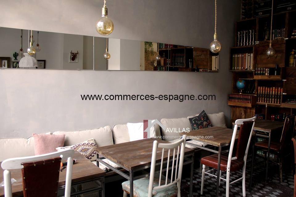 Valencia, Bar Tapas Cafeteria.