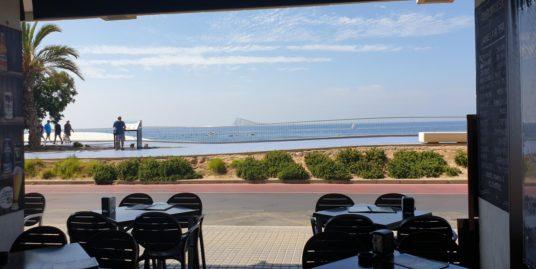 Benidorm, Bar Restaurant face mer