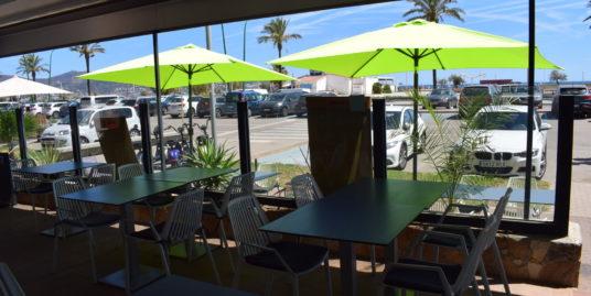 Empuriabrava, Bar restaurant, face plage