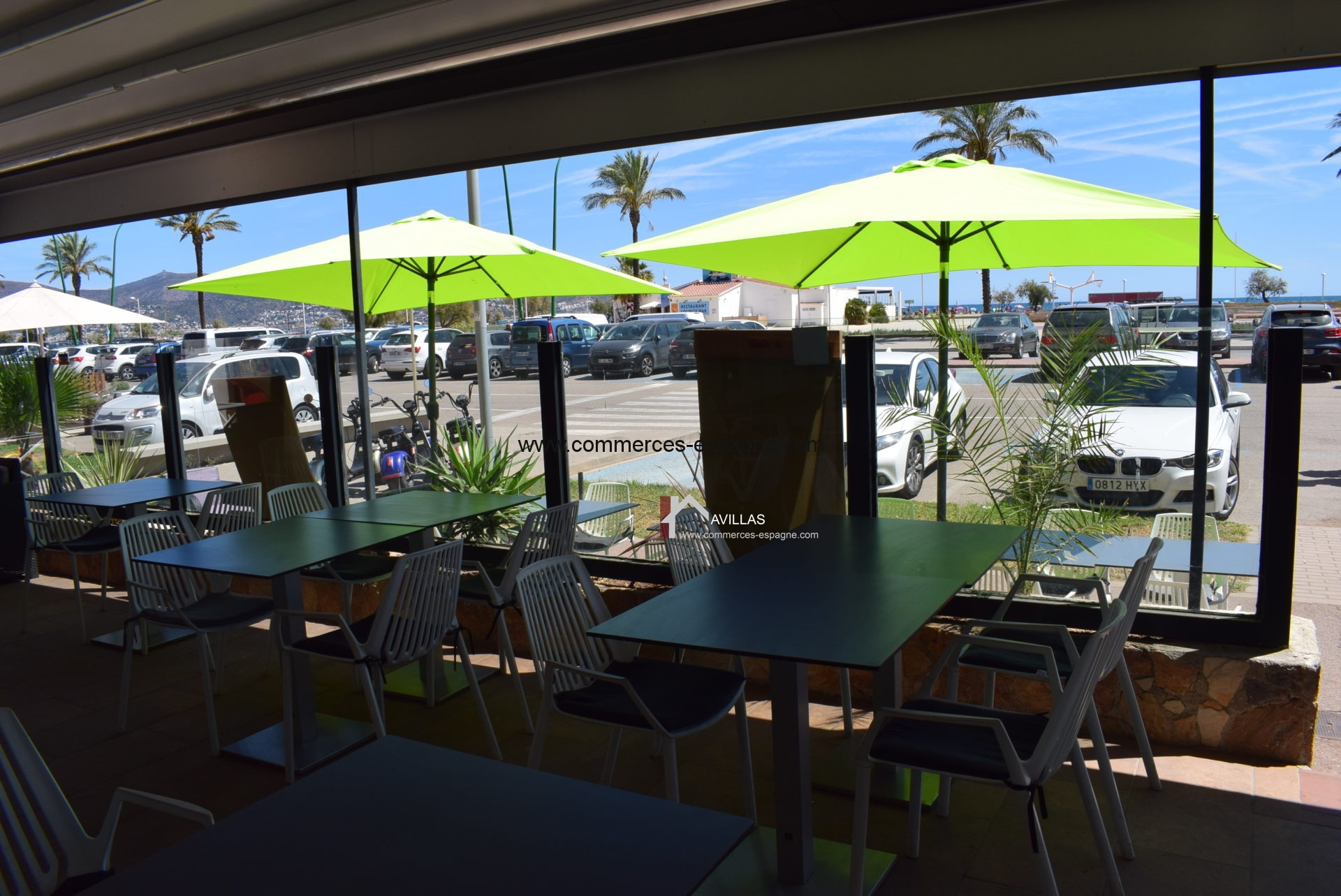 Empuriabrava, Bar restaurant, face plage