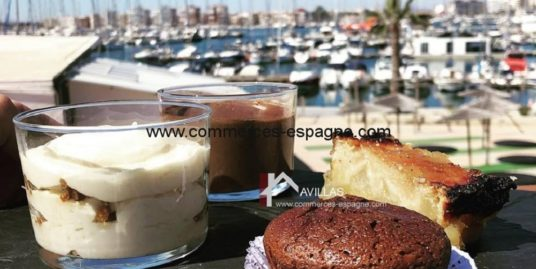 Bar Restaurant, Marina de Torrevieja face mer