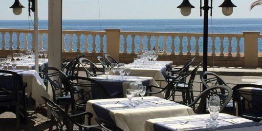 Bar Restaurant, face mer, Tossa de Mar, Costa Brava