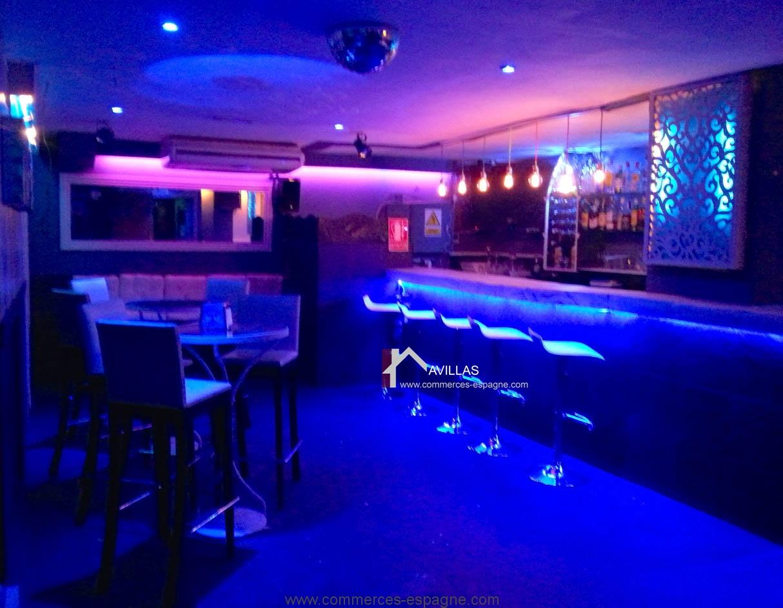 marbella bar de nuit fonds de commerce espagne avillas. Black Bedroom Furniture Sets. Home Design Ideas