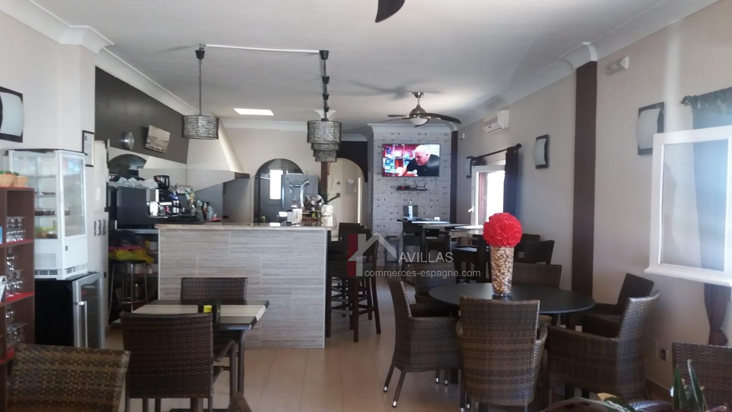 Mojacar, Alméria, Restaurant Face plage