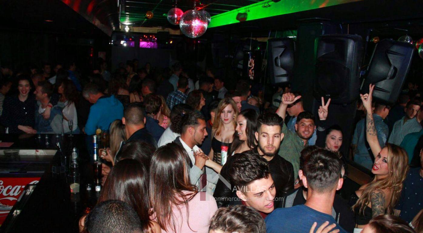 Costa Blanca,Torrevieja, Bar de nuit