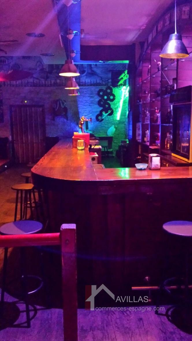 Costa Blanca, Alicante, Bar de nuit