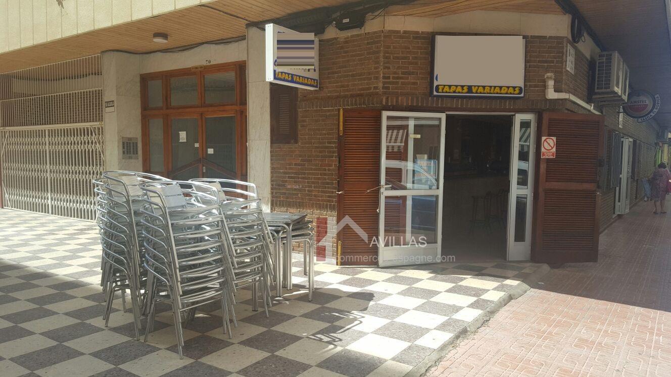 Torrevieja, bar tapas