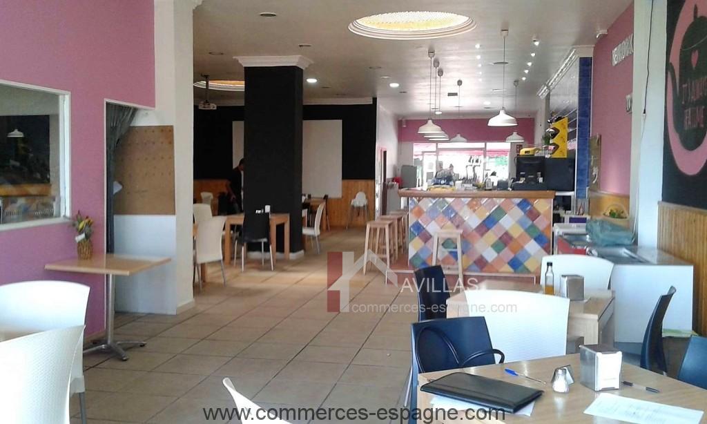 Cafeteria, Cancelada Andalousie