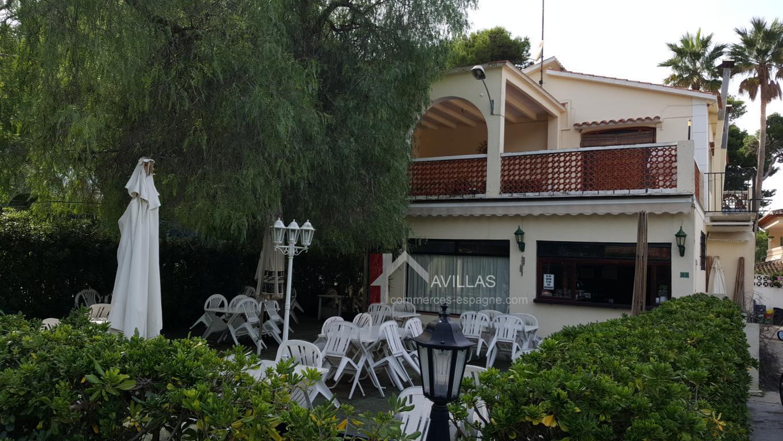 Denia, Bar – Restaurant plage