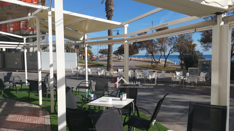 Torrevieja, Bar, Restaurant Murs et Fonds