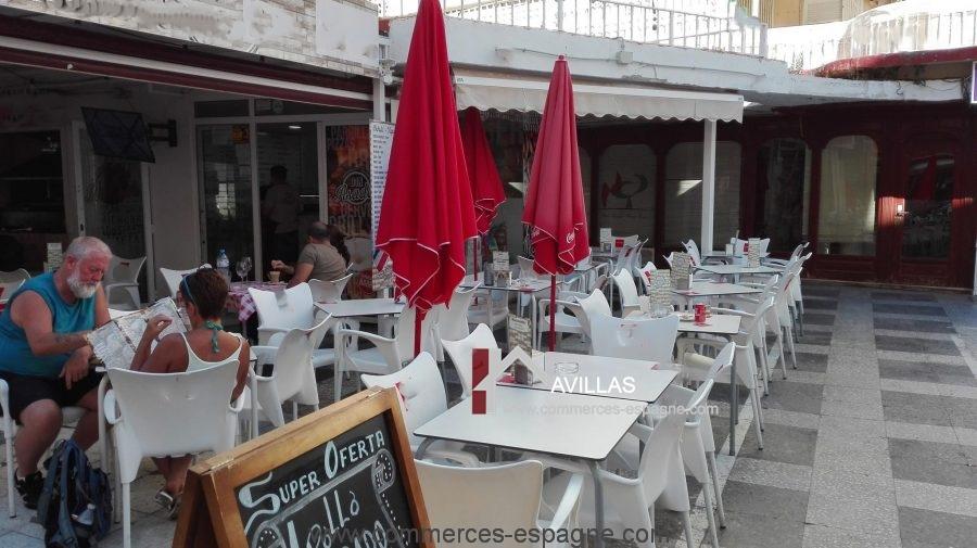 Benidorm, Bar Tapas restaurant avec terrasse