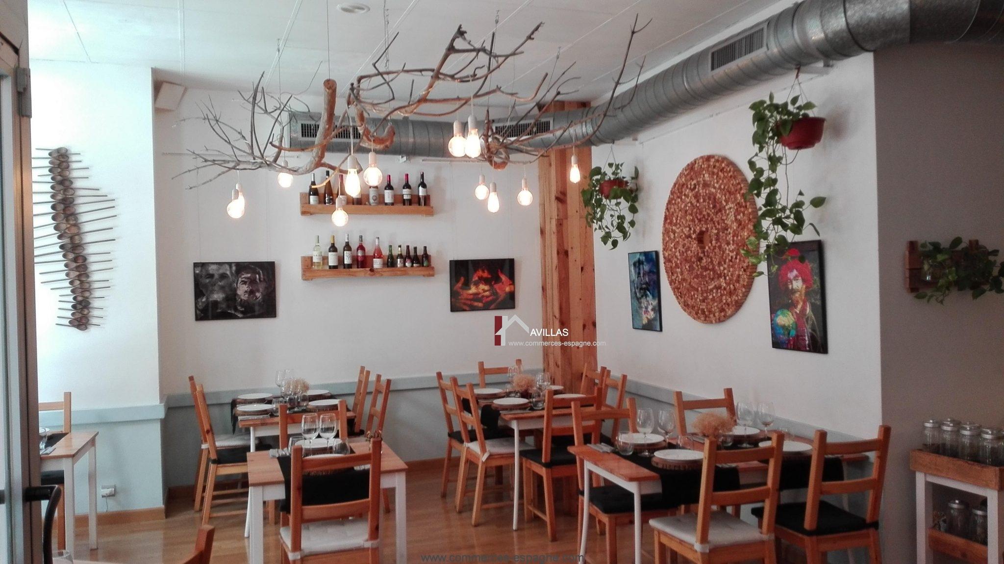 Alicante, Bar Restaurant au centre ville