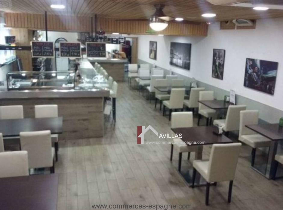 Blanes, Cafeteria, Bar, Sandwicherie, Costa Brava