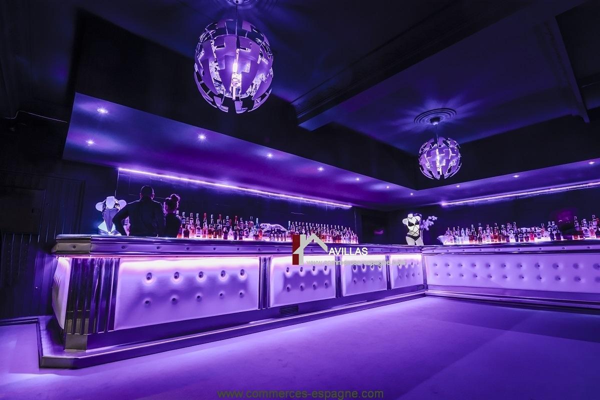 Club libertin Swingers, Bar Restaurant Discothèque Barcelone